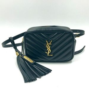 Authentic Saint Laurent Lou Belt Bag